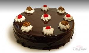 Tarta de Chocolate con Nuez