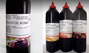 Topping: Fresa, Chocolate, Vainilla y Frutas del Bosque