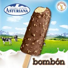 Las Asturiana: Bombón Crocanti