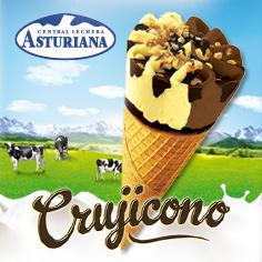 Las Asturiana: Crujicono Vainilla y Chocolate