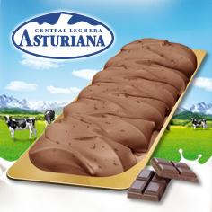 Etiqueta de Oro Chocolate con Trozos