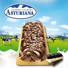 Etiqueta de Oro Tres chocolates